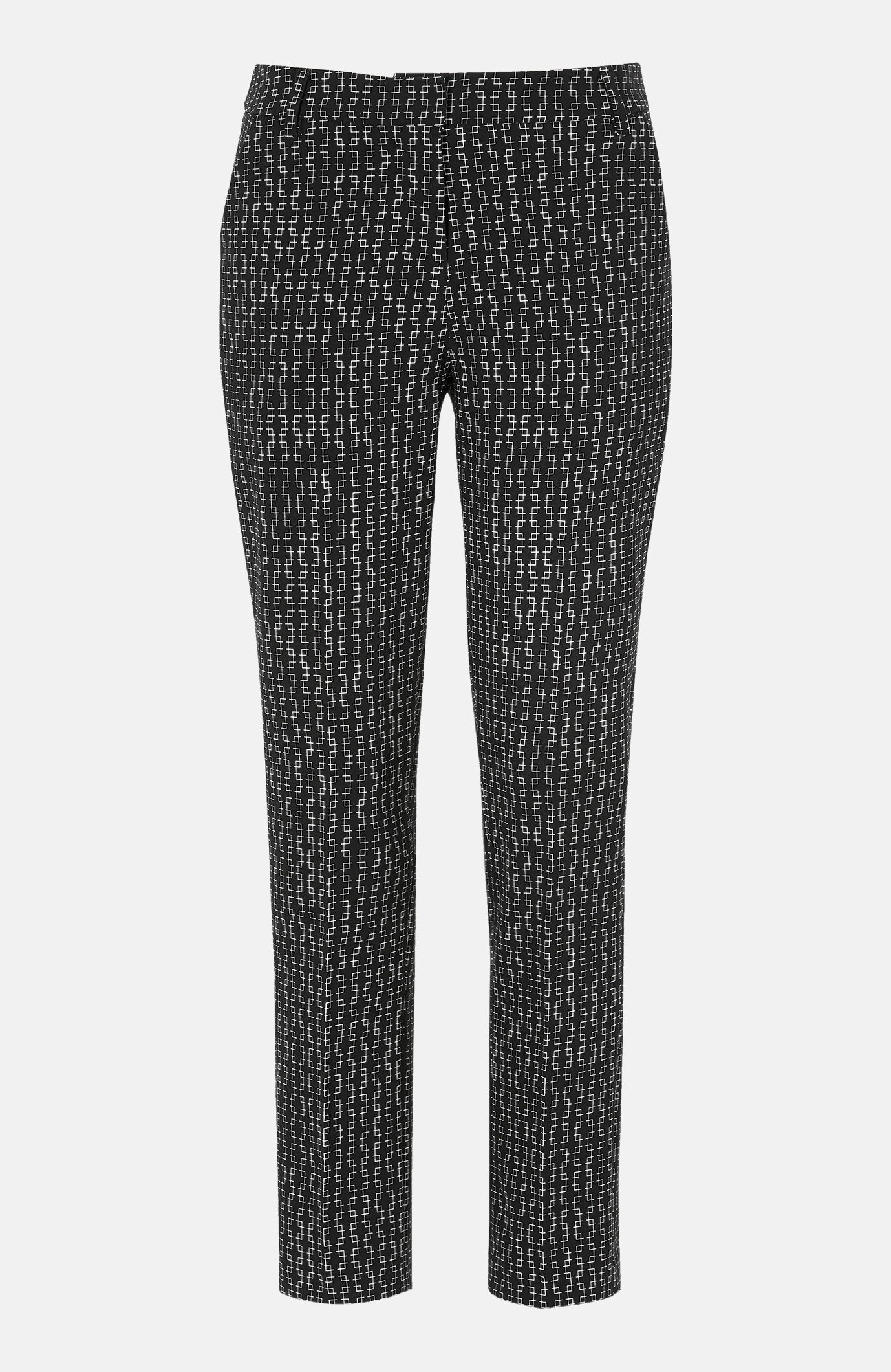 Luźne eleganckie spodnie zkantem