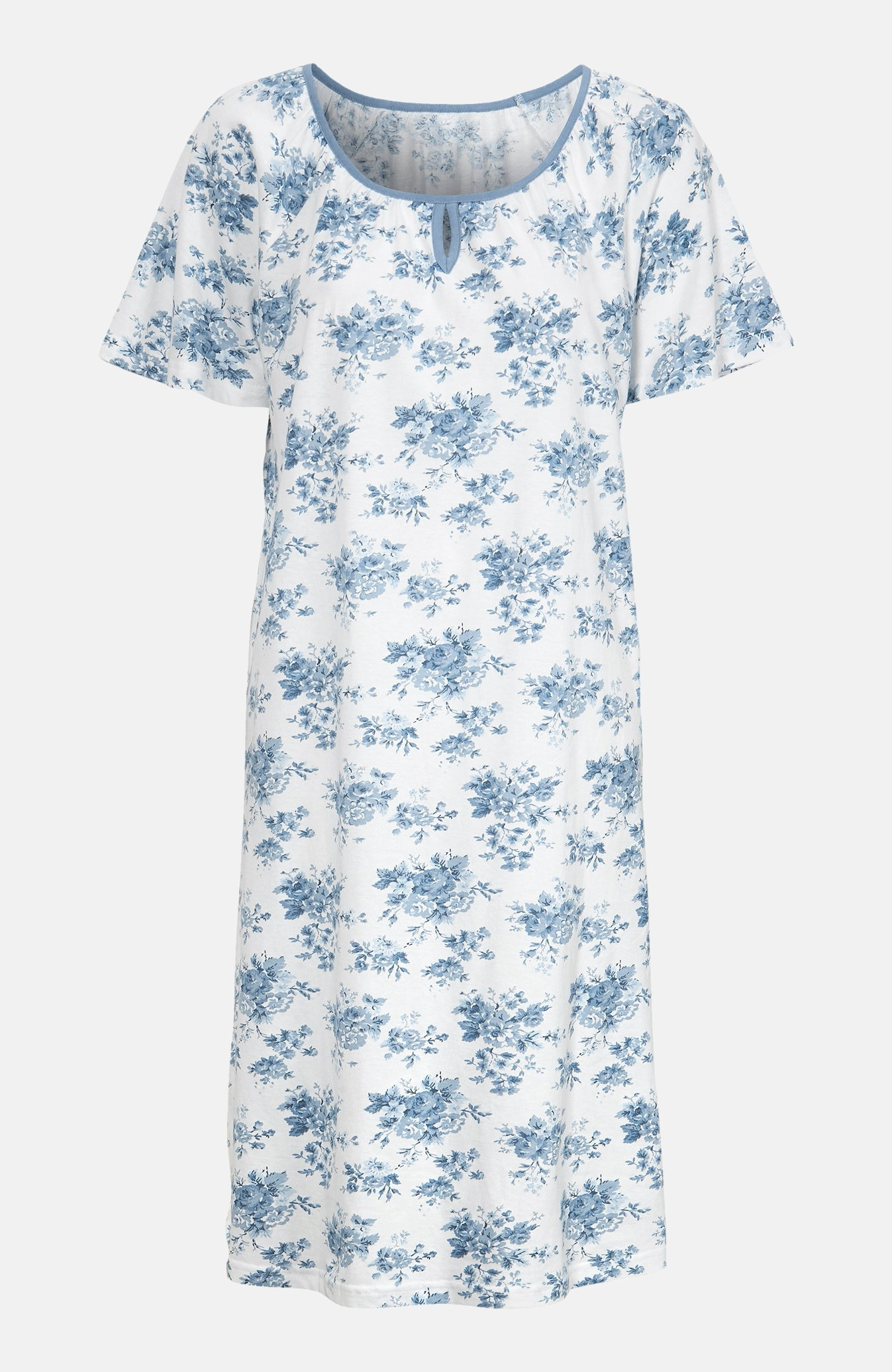 Koszula nocna zkrótkim rękawem