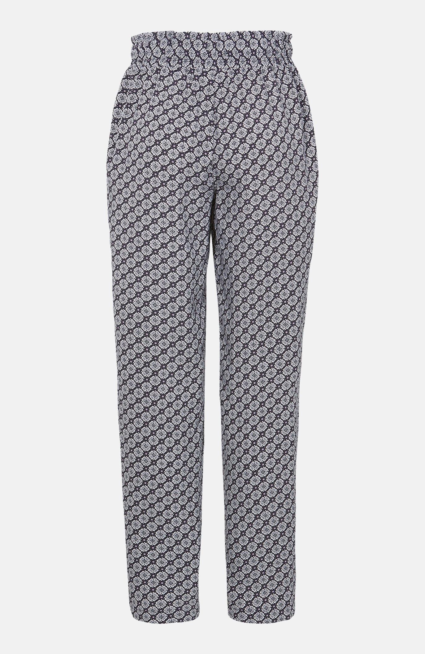 Szerokie, wzorzyste spodnie
