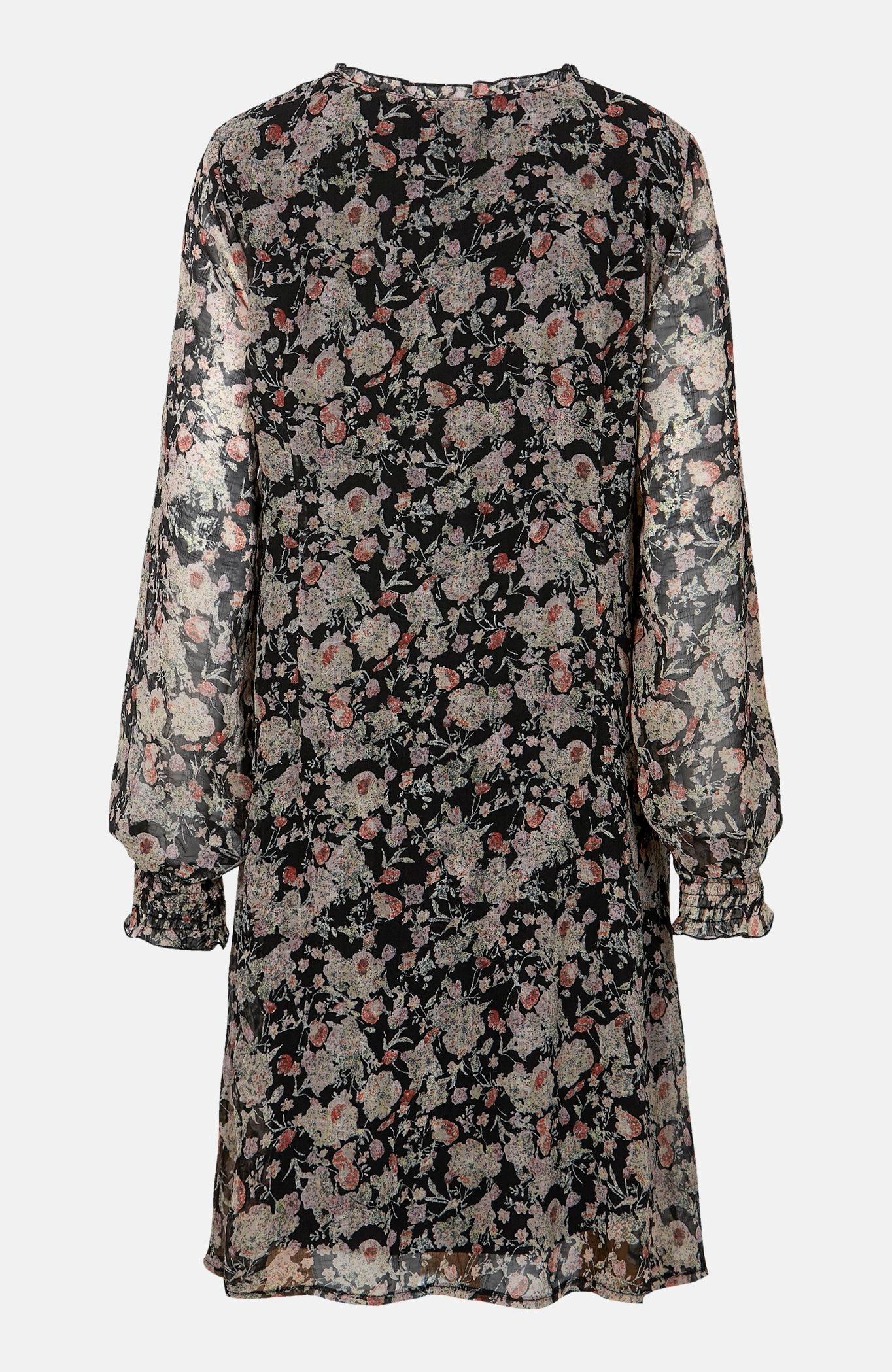 Sukienka we wzory na podszewce Polina