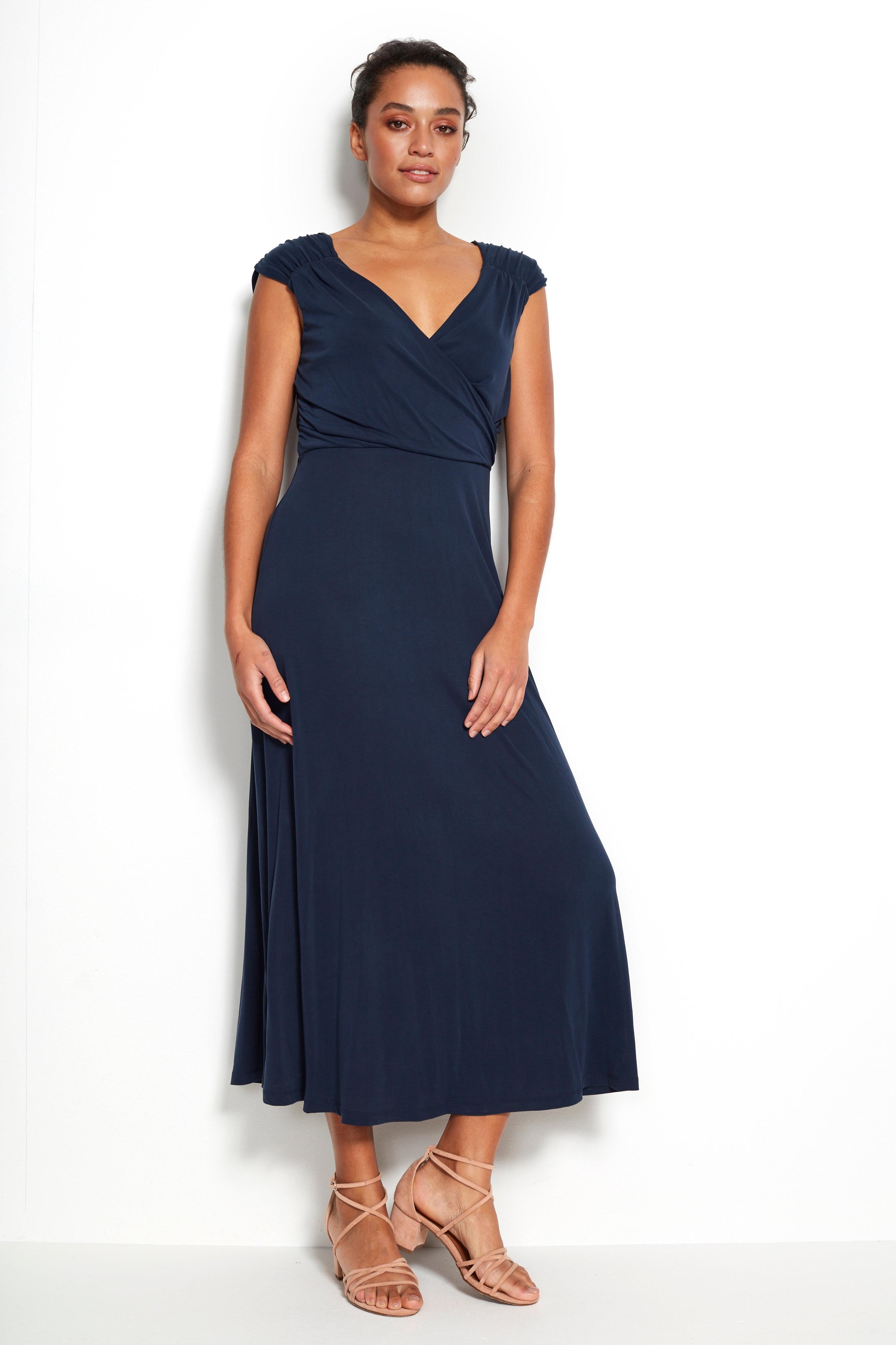 Elegancka sukienka zdżerseju