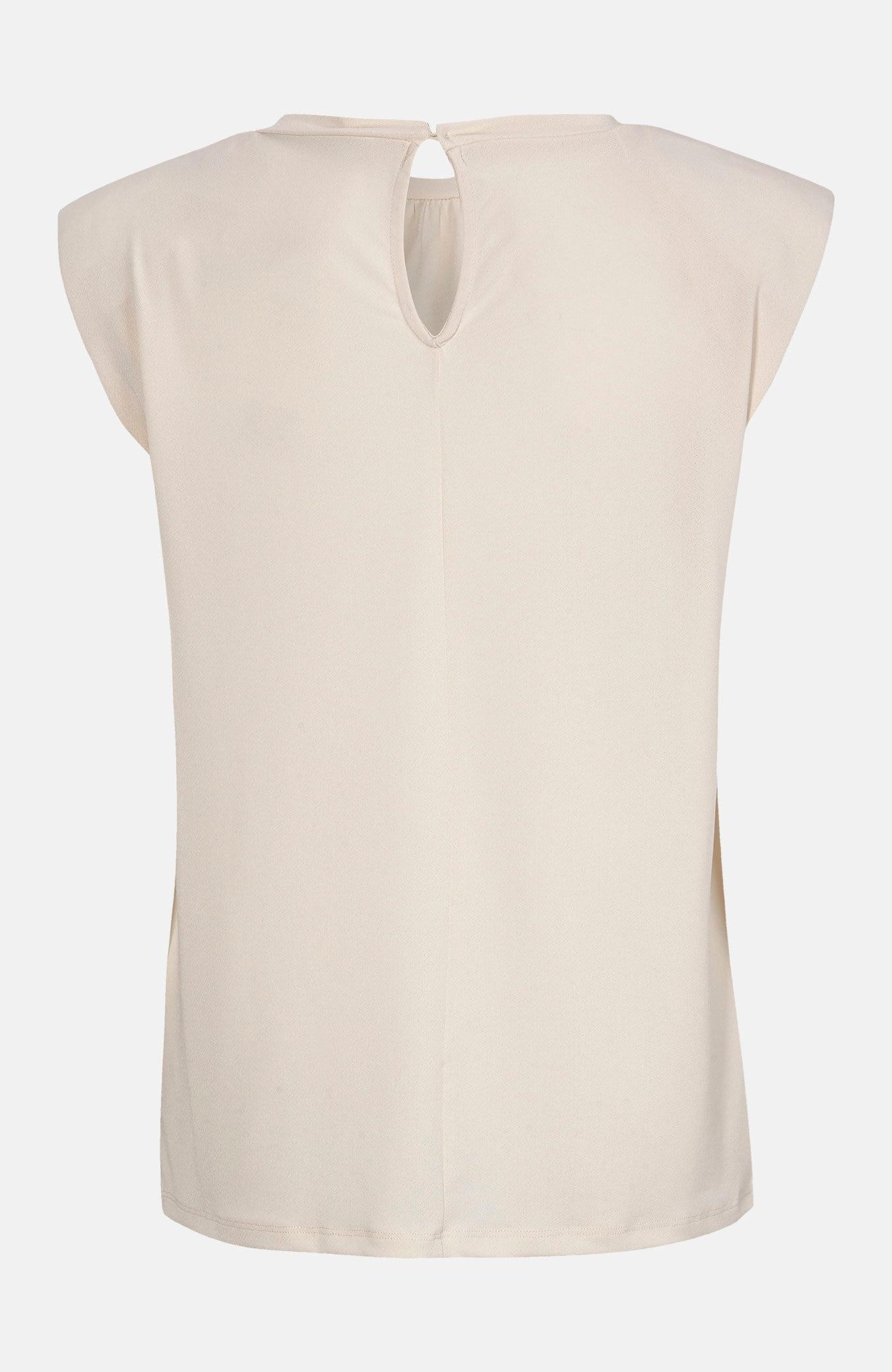 Dżersejowa bluzka zwatowaniem przy ramionach Oliva