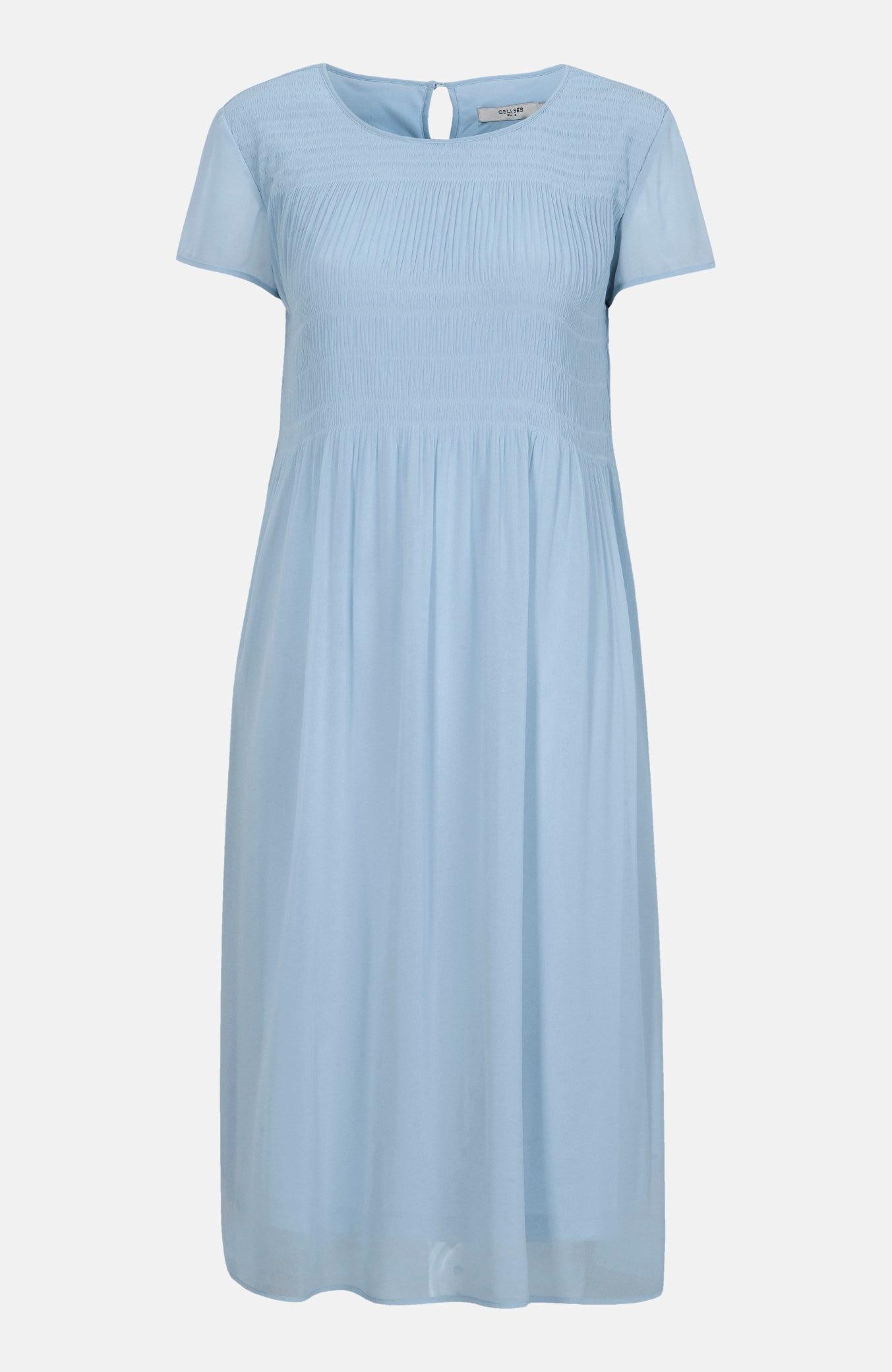 Sukienka zplisowaniem