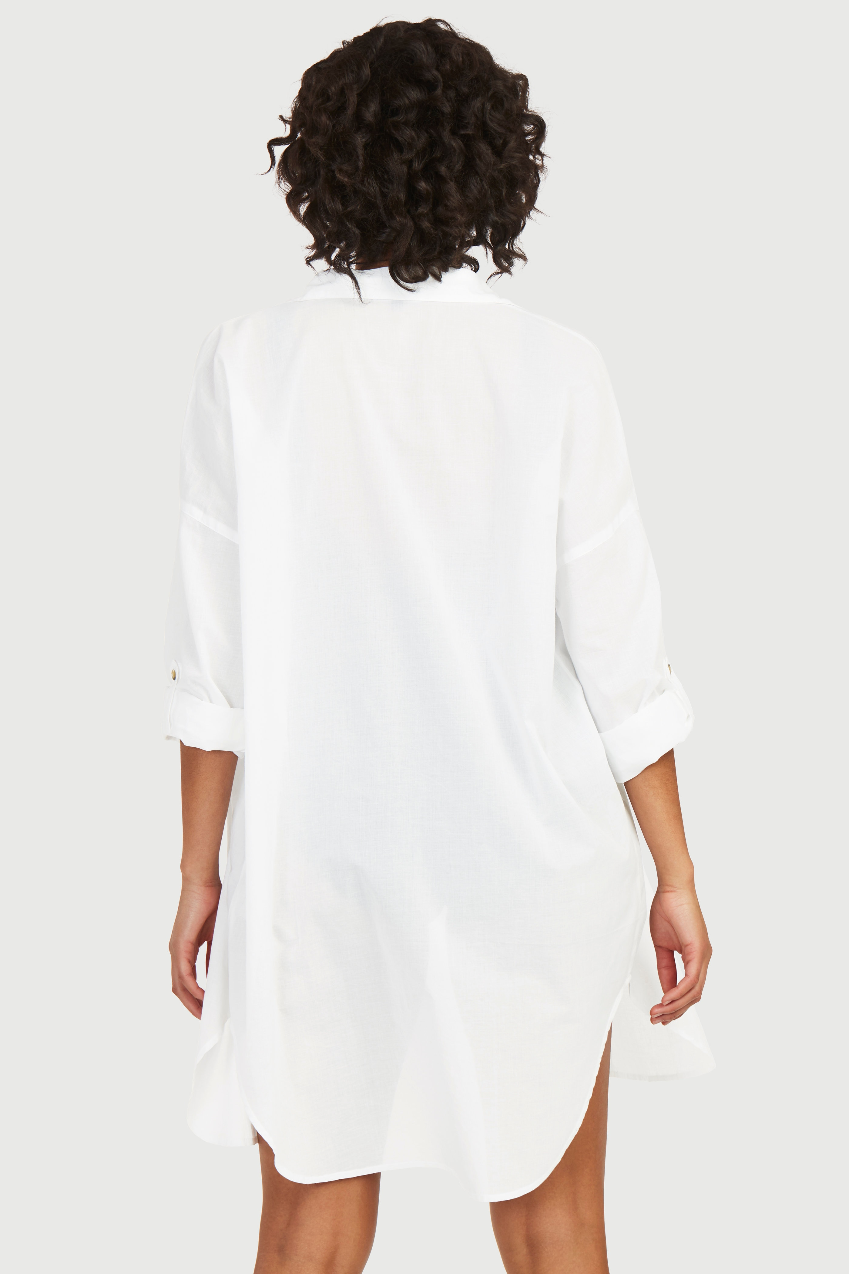 Cienka koszula plażowa