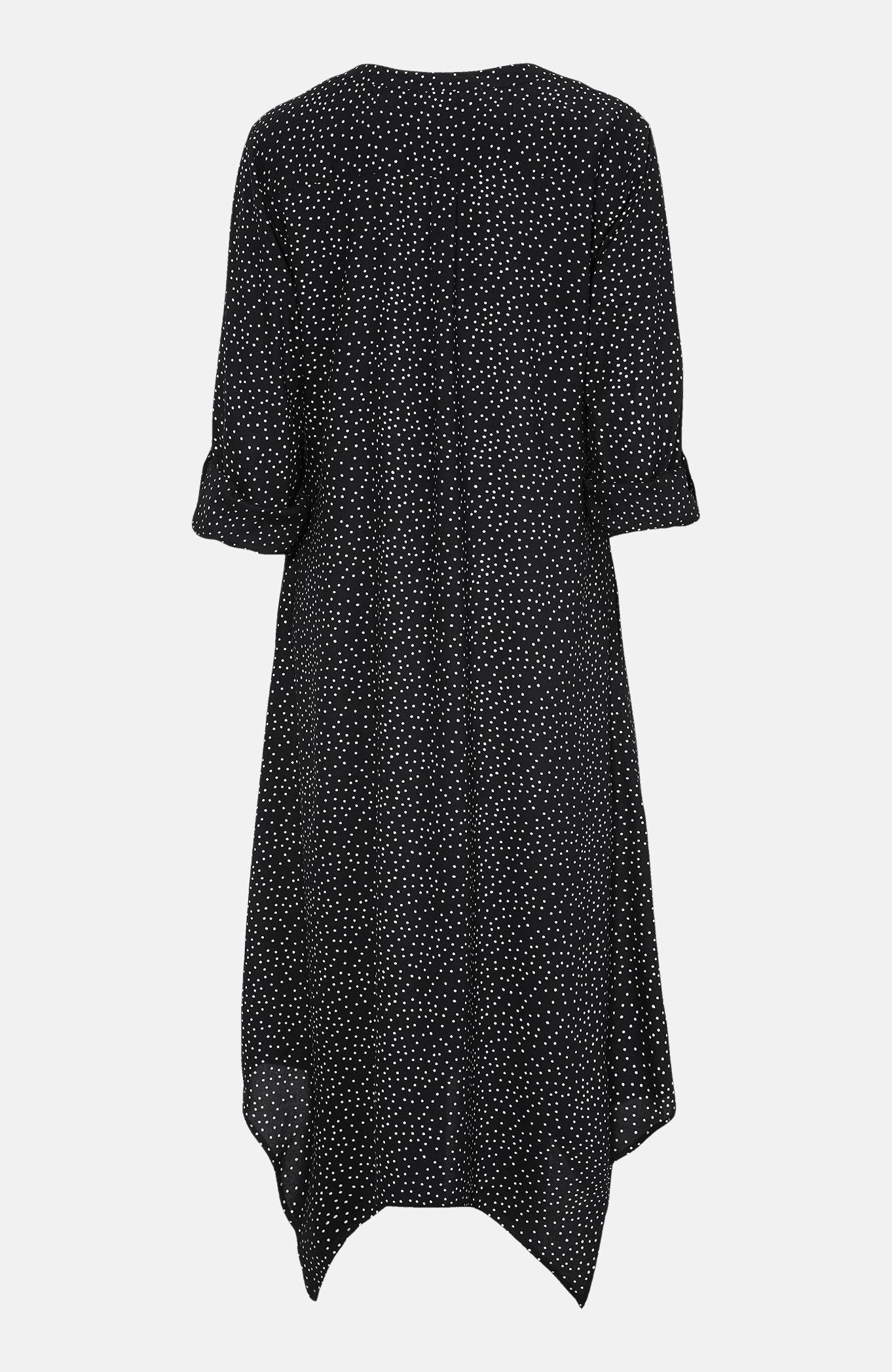 Kropkowana sukienka