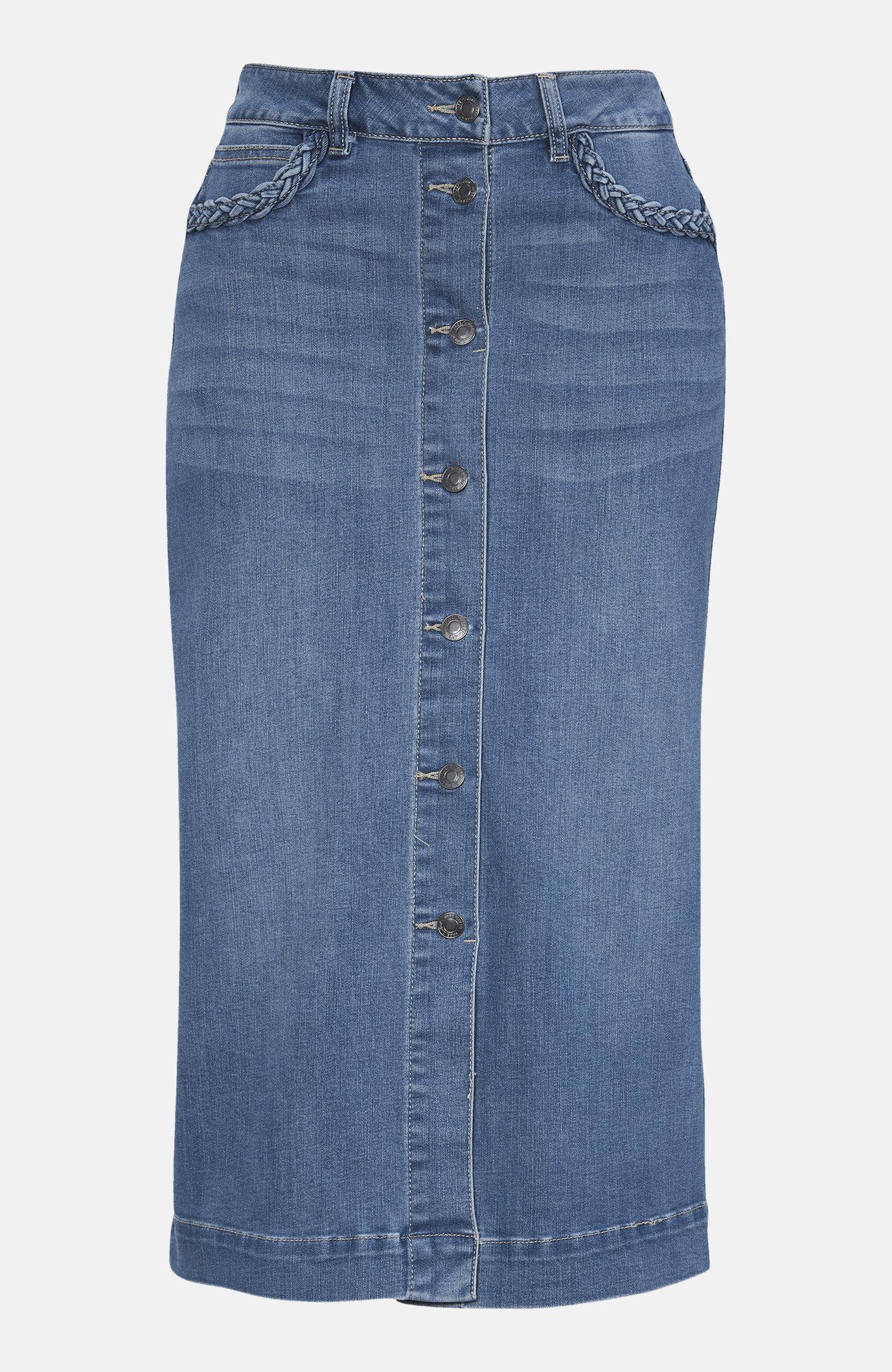 Rozciągliwa spódnica dżinsowa Rock