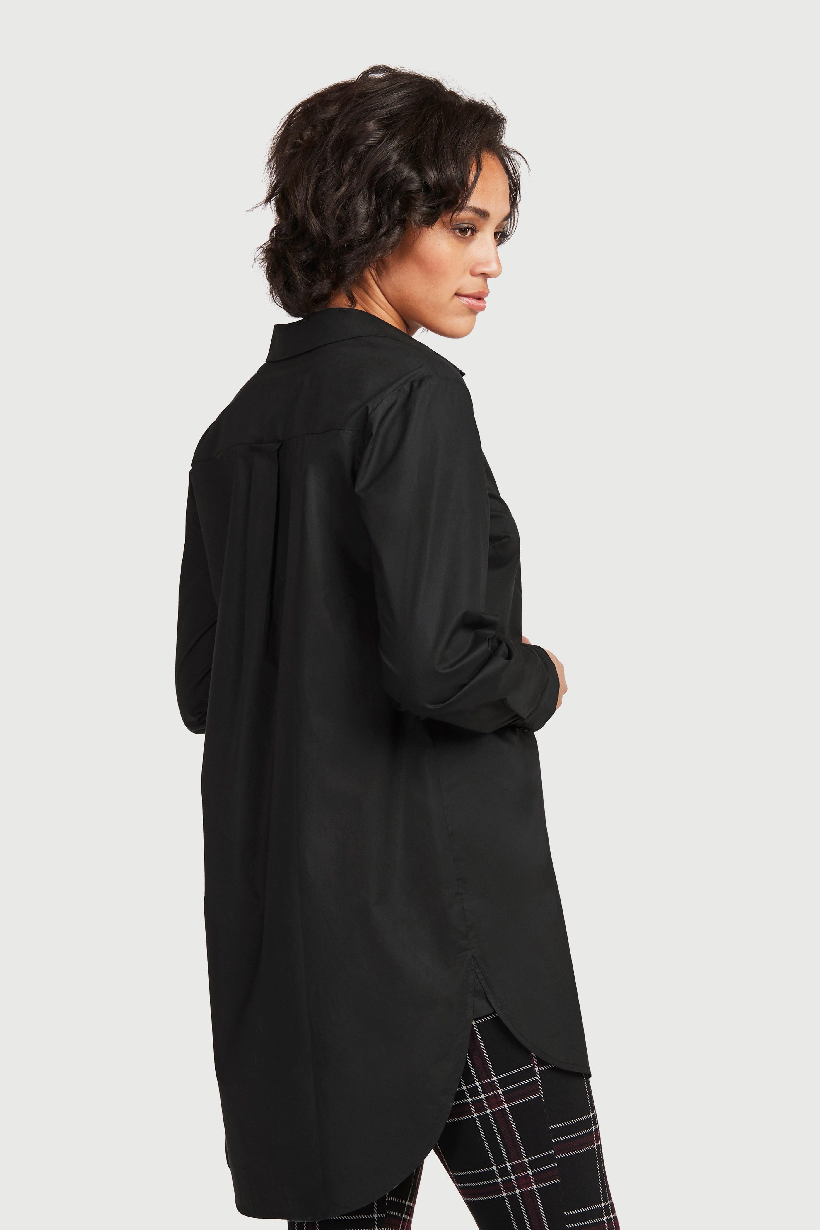Długa koszula z bio bawełny