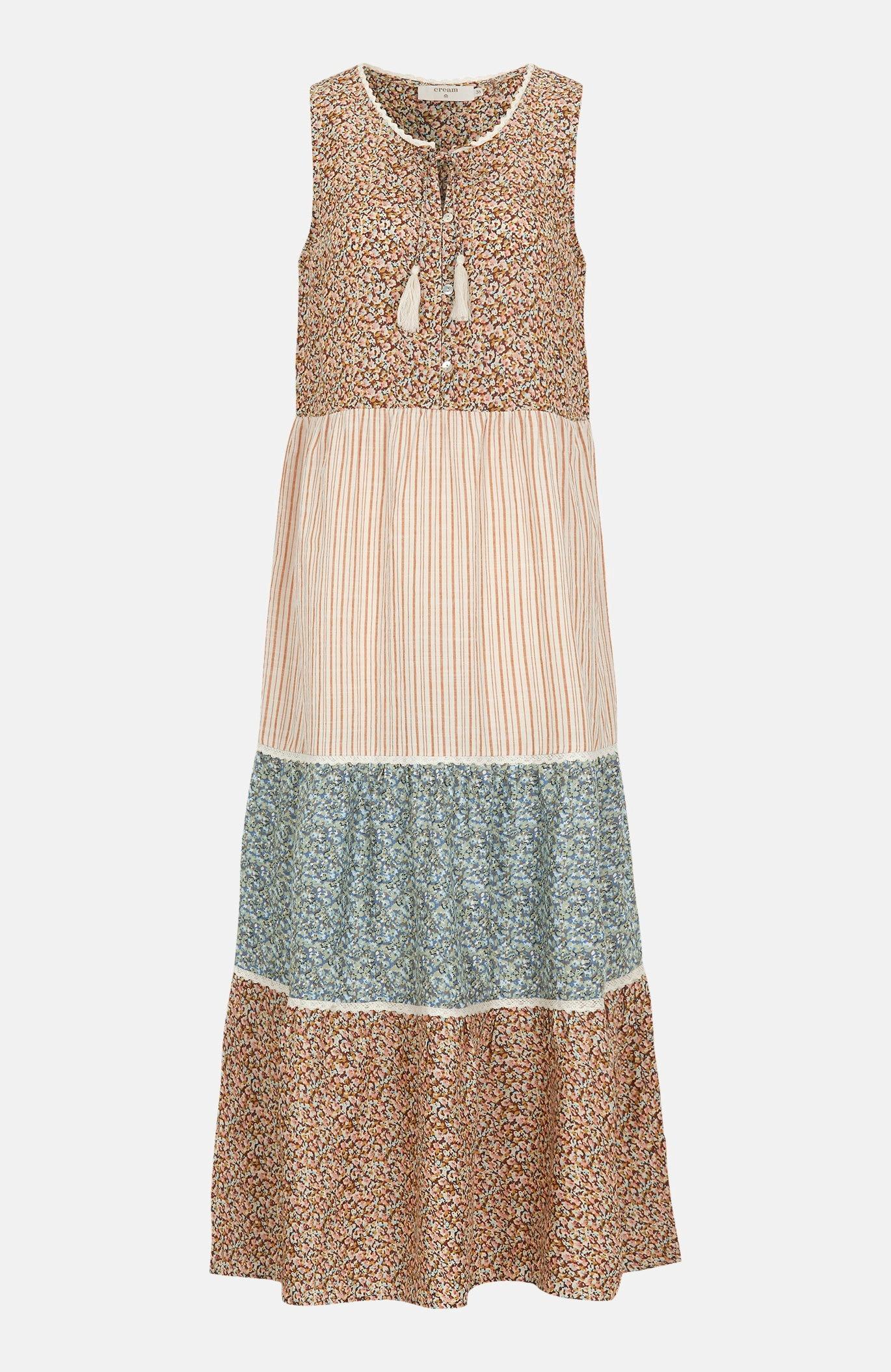 Wzorzysta sukienka zwiskozy Tallis