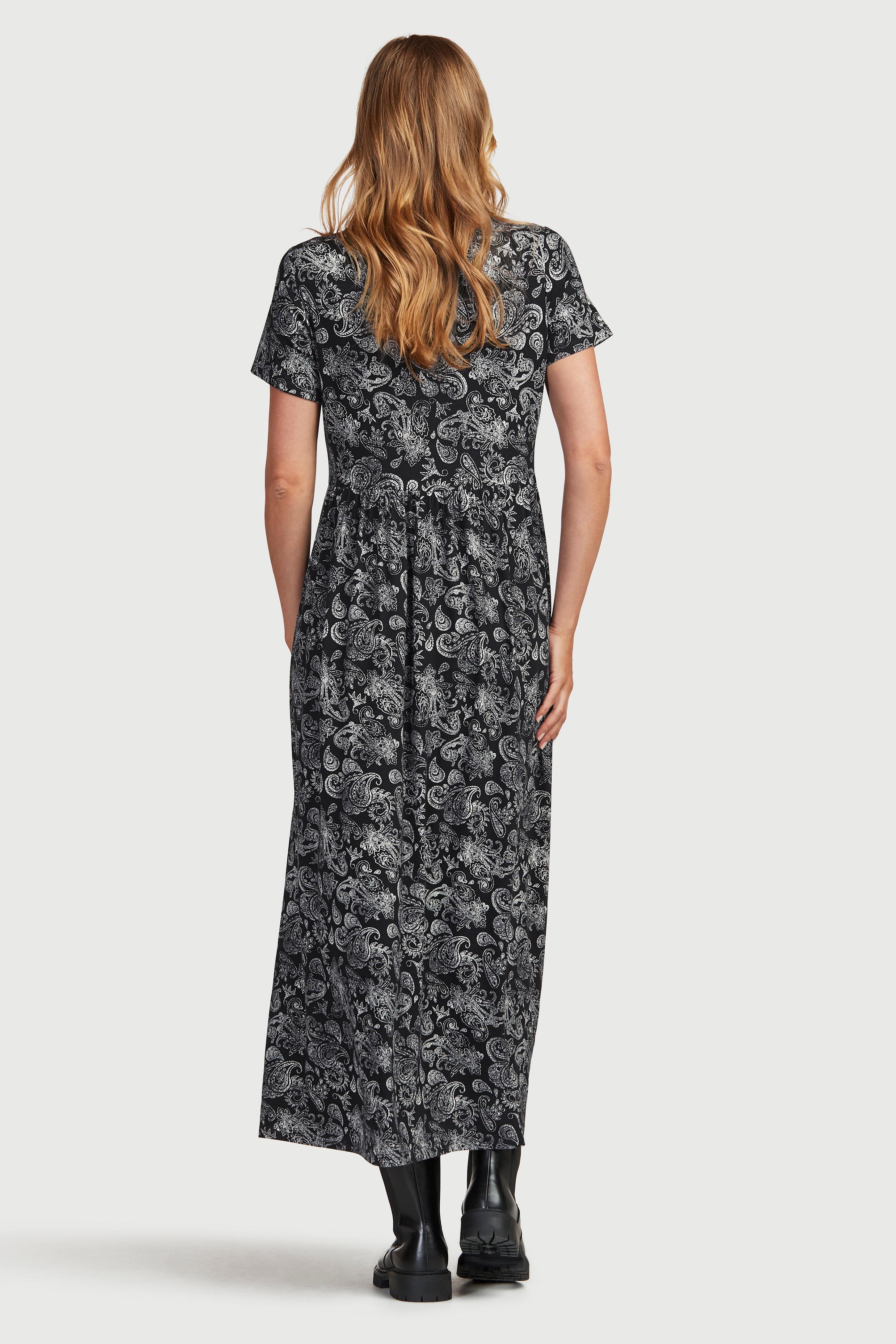 Sukienka maxi z dżerseju