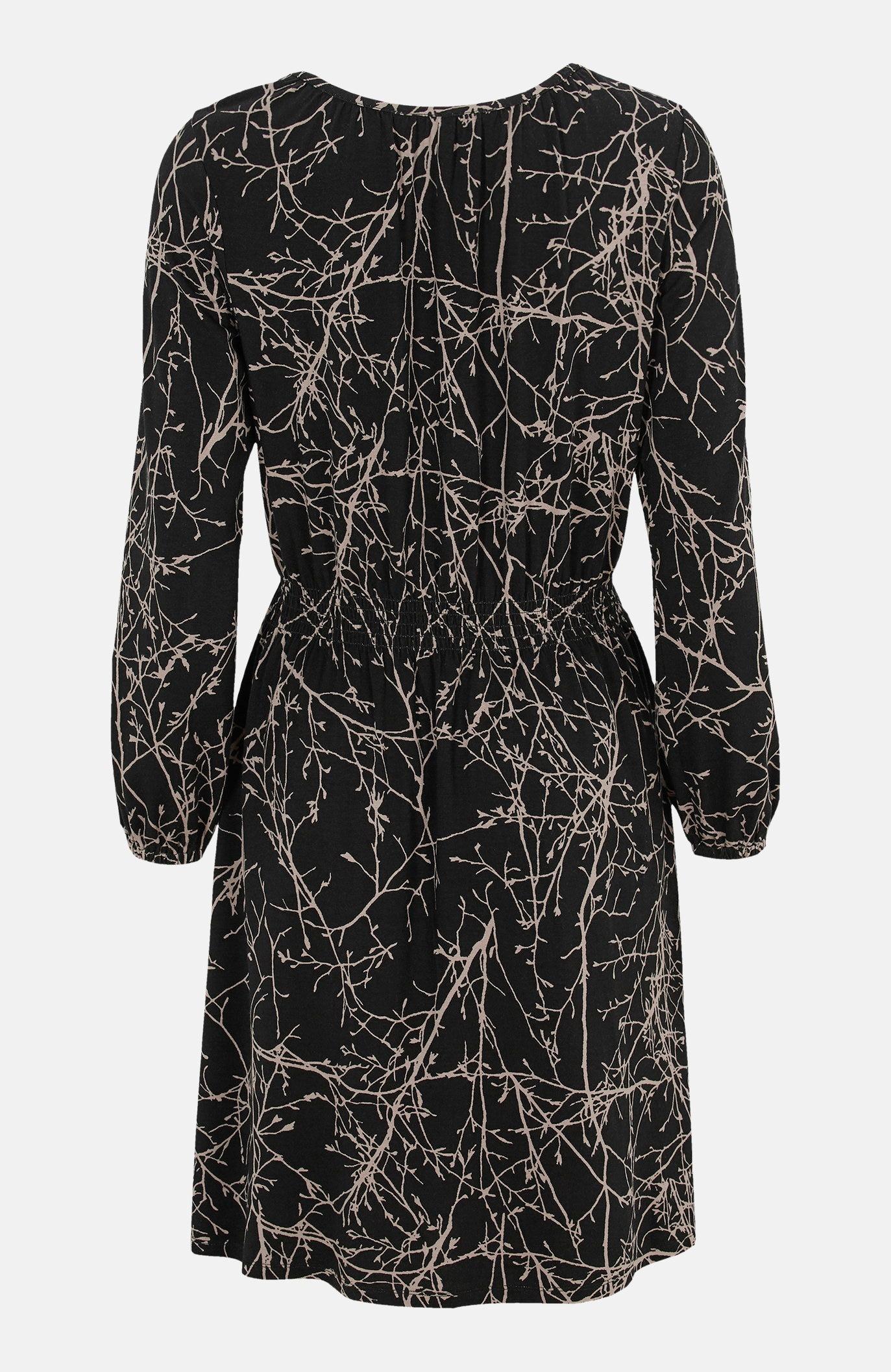 Sukienka zmarszczeniami
