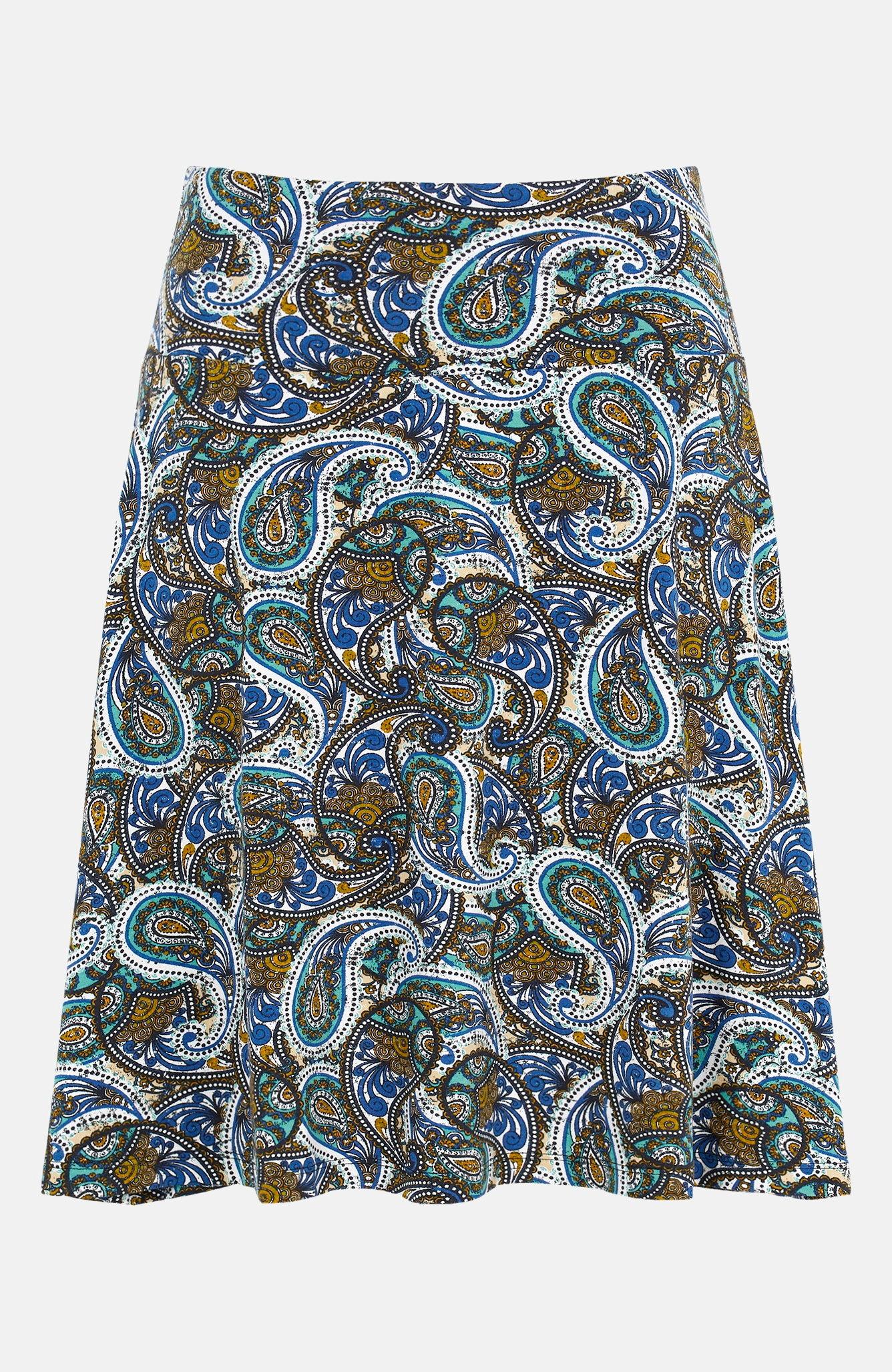 Krótka spódnica dżersejowa