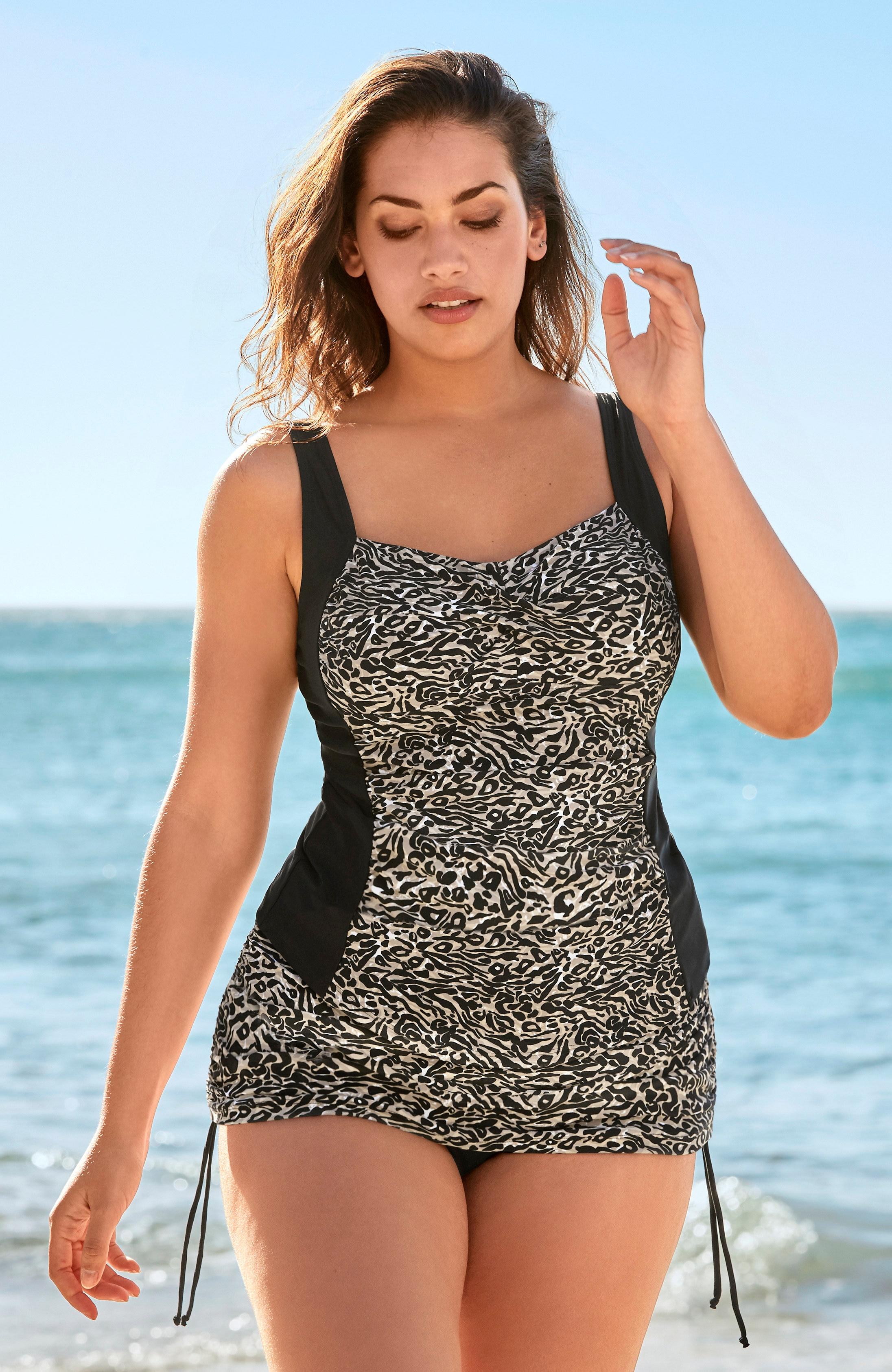 Bikini ze spódniczką